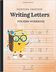Practice Writing Letters Printing Practice Writing Letters For Kids Improve Handwriting With