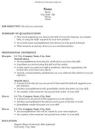 Scholarship Resume Templates Resume Template For Scholarship ...