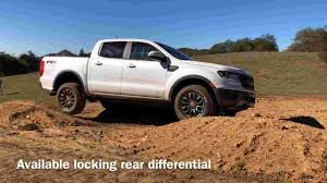 2019 Ford Ranger drive shows it's fit for city and off road