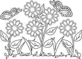 flower and butterfly coloring pages. Brilliant And Flower Butterfly Coloring Pages Photo Gallery Next Image  In And