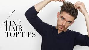Best Hair Style For Thin Hair 7 tips for guys with fine hair i swear by them youtube 7737 by wearticles.com