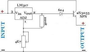 wiring diagram altec along npn and pnp transistor diagram hight current power supply lm317t and an npn power transistor wiring diagram altec along npn and pnp transistor diagram