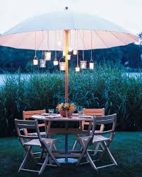 creative outdoor spaces patio umbrella lightspatio umbrellale
