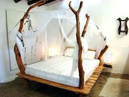 Vintage Wood Bed Frame Wooden Frames Bedroom Awesome White Shows Old ...