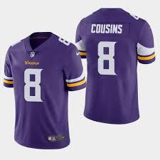 Vikings Jersey Limited Purple Kirk Untouchable Cousins Men's Vapor 8 Minnesota -