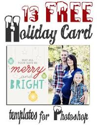 60 Best Christmas Cards Photoshop Images Christmas Card Template