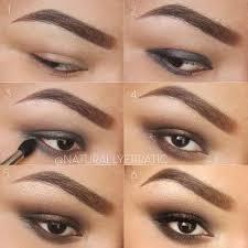 1 2 3 easy brown smokey eye makeup tutorial