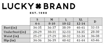 Brand Size Chart Swimstyle Fit Guide Size Charts By Brand