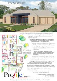 profile homes the in vogue poster