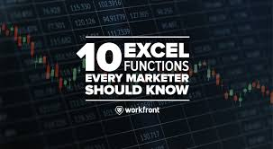 10 Excel Functions Every Marketer Should Know Workfront