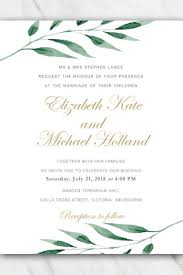 Free Invitation Template Download Olive Branch Wedding Invitation Template Download For Free Via