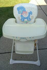 vintage 1980s graco high chair