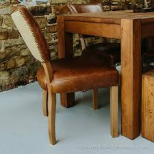newton leather occasional chair
