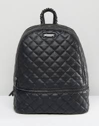 ALDO Quilted Backpack in Black   ASOS   Pinterest   Backpacks, Bag ... & ALDO Quilted Backpack in Black Adamdwight.com