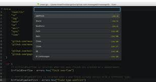 Supercharging the Atom Editor for Go Development · marcio.io