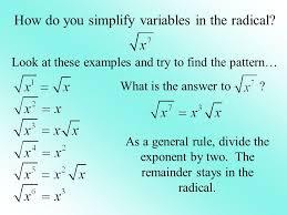 Simplifying Radical Expressions Worksheet Answers - Checks Worksheet