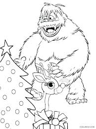 Rudolph Coloring Pages The Red Nosed Reindeer Coloring Pages Santa