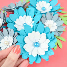 Flower Templates For Paper Flowers Small Clementine Paper Flower Template
