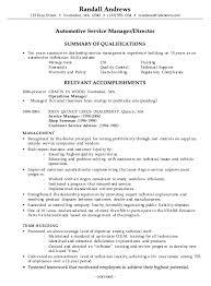 Resume It Professional Susanireland Combination Resume Example Automotive Service Manager C