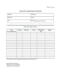 Free Printable Attendance Sheet Templates Student Form In C ...