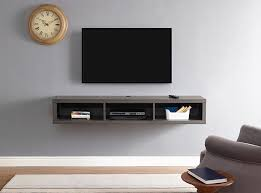 best wall mounted tv decor for martin home furnishings 60 shallow wall mounted tv