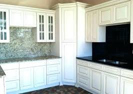 best backsplash for white cabinets and black countertops gray off subway tile ite walls dark grey