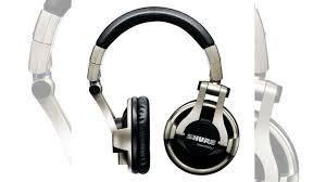<b>Охватывающие наушники Shure</b> SRH750DJ Silver/Black купить в ...