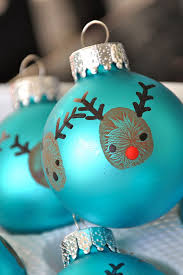8. Thumbprint Ornaments