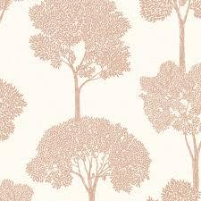 holden decor ambleside copper tree wallpaper