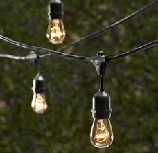 com outdoor commercial string globe lights with hanging drop sockets 50ft 24 sockets and bulbs outdoor or indoor great for patio cafà party