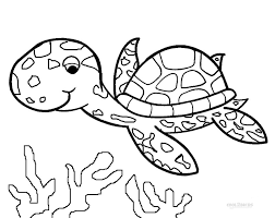 Small Picture Sea turtle coloring pages to download and print for free