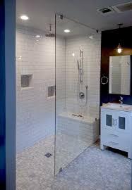Elegant Frameless Walk In Shower Glass Screens Panels Shower Doors Of Austin