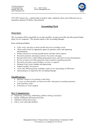 Cover Letter For Accounting Clerk 11 Accounts Payable Cover Letter