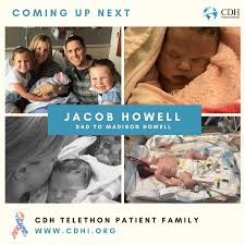 Jacob Howell's Shares His Family's CDH Journey on 2020 CDH Telethon -