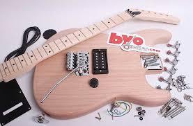 lunatic electric guitar kit