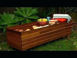deck bench seat plans nice storage box bench seat storage bench ideas guide inside garden bench