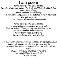 I Am Poems I Am Poem Examples For Girls