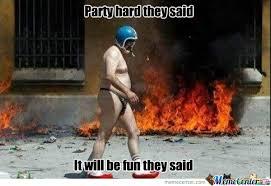 Party Hard by zerotagg - Meme Center via Relatably.com