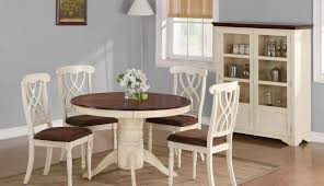 for high gloss glass set dining black table marble and antique whitewashed distressed small round chairs