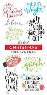Check out our you serious clark svg selection for the very best in unique or custom, handmade pieces from our shops. Best Free Christmas Svg Files Christmas Svg Cricut Svg Files For Cricut