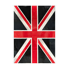 ... patchwork cowhide rug k-1911 british flag ...