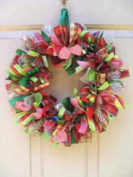 Christmas Wreath, Christmas Ribbon Wreath and Fabric Wreath for Christmas  Dcor, 14 Our Christmas Ribbon and Fabric Wreath contains more than