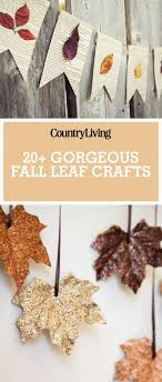 diy crafts for your house. 30 gorgeous ways to craft with fall leaves diy crafts for your house c