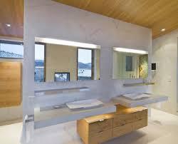 mirror lighting bathroom. View In Gallery Custom LED Mirror Lighting Bathroom E