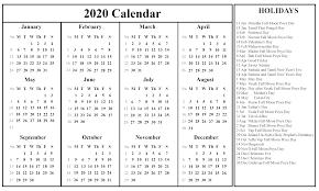 2020 Photo Calendar Template Printable September Calendar Template