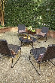 pea gravel backyard lovely gather around the firepit to enjoy the wonderful weather of pea gravel