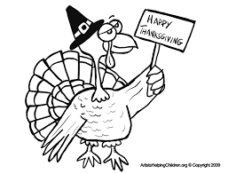 Happy Thanksgiving Turkey Coloring Pages Printouts Turkey