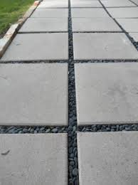 patio concrete slabs. Cheap Concrete Slabs For A Patio, Fill The Gaps Between With Gravel And Patio