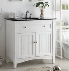 beach style bathroom. 37 Inch Bathroom Vanity Cottage Beach Style Beadboard White Color (37\