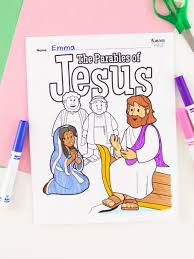 Jesus loves you know matter what. 17 Free Sunday School Coloring Pages Fun365